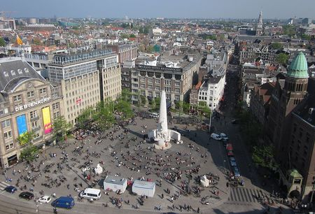 Dam Square De Bijenkorf National Monument