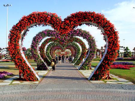 Miracle Garden Alley of Hearts