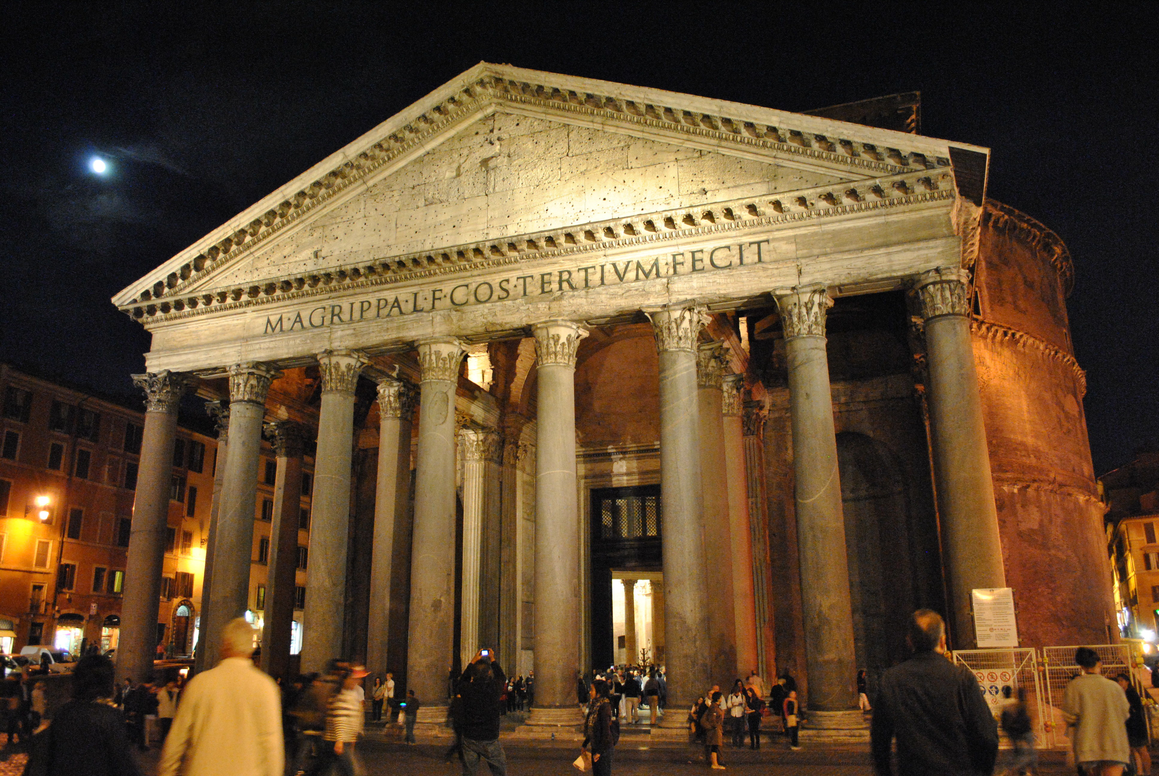 You Must See Moon Light If You Happen To Visit Pantheon In