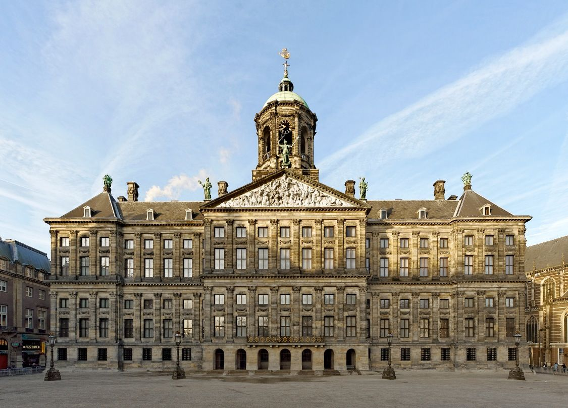 Royal Palace of Amsterdam Facade