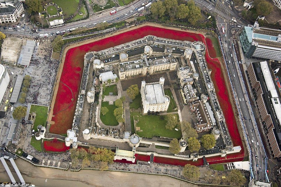 You Must See Tower Of London Sea Of Red Clay Poppies If You Happen - Tower of london river of poppies