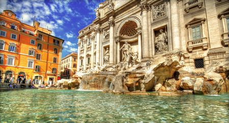 Trevi Fountain Pantheon