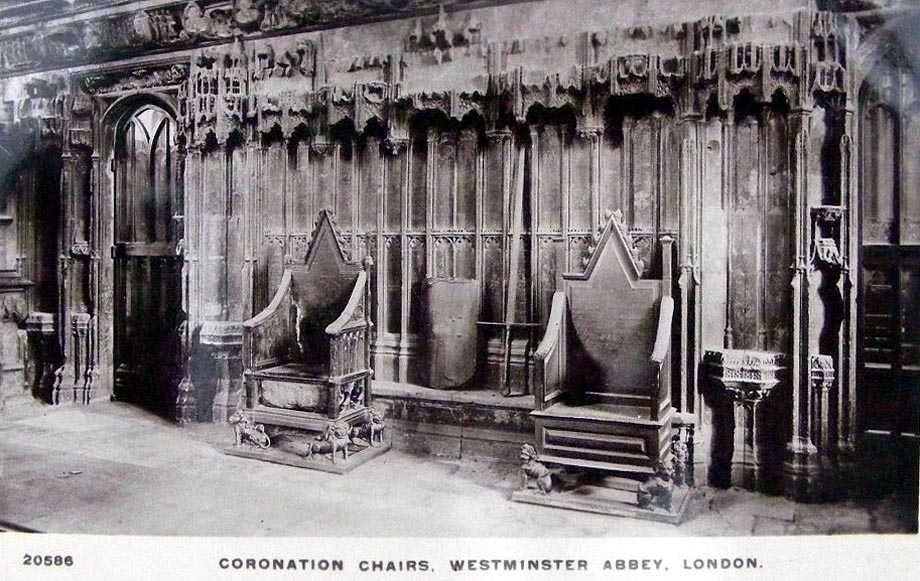 Coronation Chairs Westminster Abbey old photo & You must see Coronation Chairs Westminster Abbey Old Photo if you ...