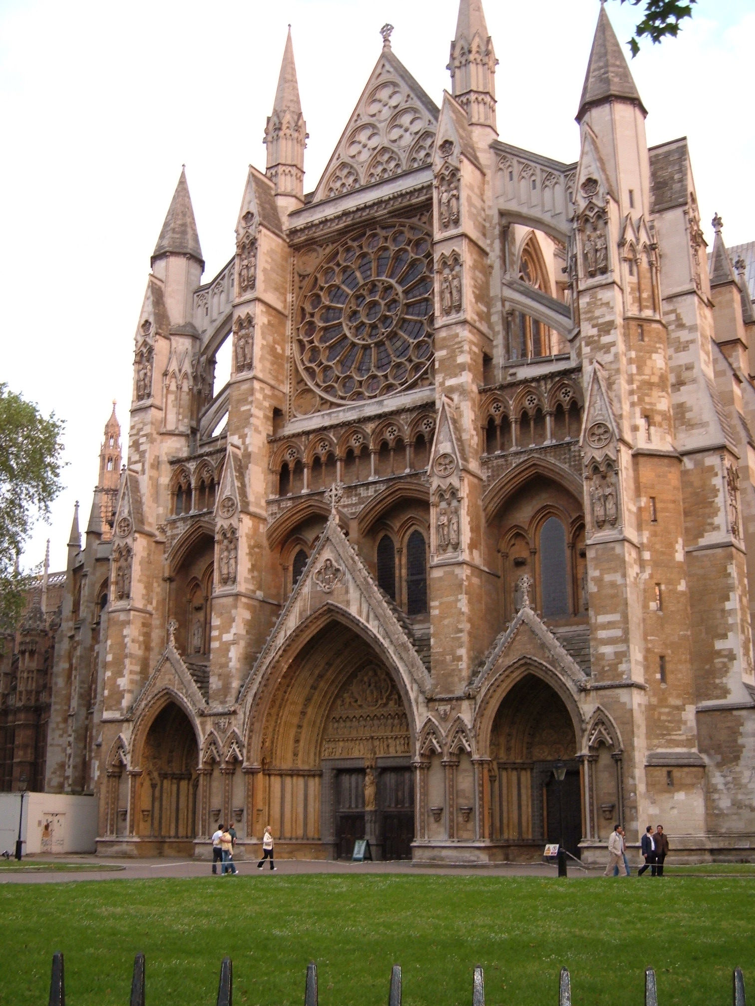 entrance westminster abbey